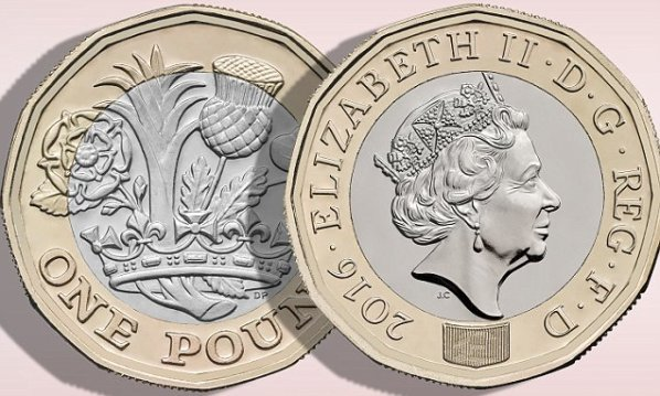 New One Pound Coin of United Kingdom